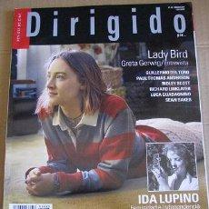 Cine: DIRIGIDO POR... Nº485 (EN PORTADA LADY BIRD) LEER DESCRIPCION. Lote 114822227