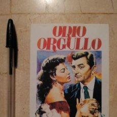 Cine: REPRODUCCION PAPEL -10*15- ODIO Y ORGULLO - AVA GARDNER - ALBUM - ROBERT MITCHUM. Lote 115043747
