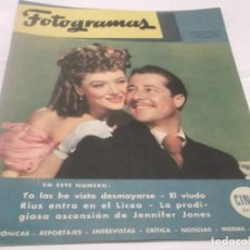 Cine: FOTOGRAMAS - EDICION 50 ANIVERSARIO - FACSIMIL DEL Nº 1 DE LA REVISTA 15-11-1946 - 1996. Lote 115133967