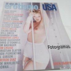 Cine: REVISTA FOTOGRAMAS.ESPECIAL 10 AÑOS DE EROTISMO USA.1999. MADONNA-DREW BARRYMORE-DEMI MOORE. Lote 115164627