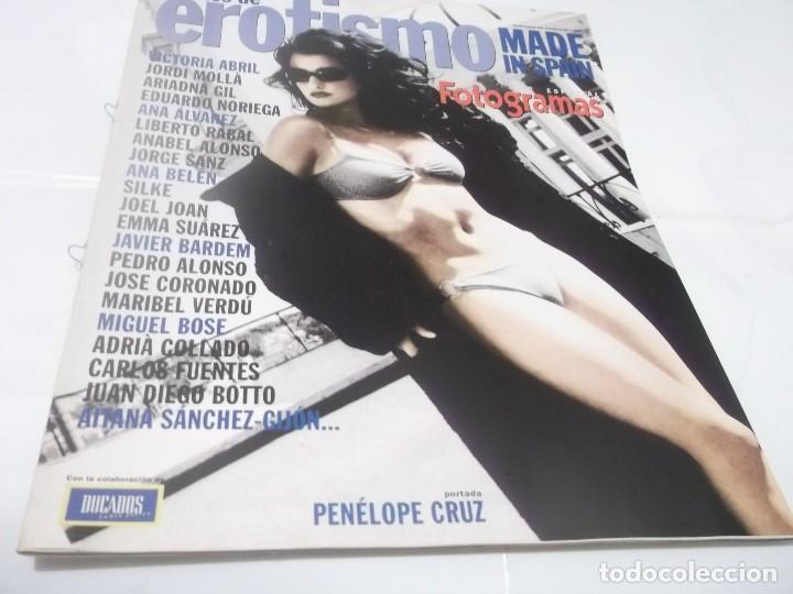 FOTOGRAMAS.ESPECIAL 10 AÑOS DE EROTISMO ESPAÑA.1999.PENÉLOPE CRUZ.ANA BELÉN.MIGUEL BOSE (Cine - Revistas - Fotogramas)