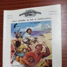Cine: REVISTA CINE - CINEMATOGRAFICA ESPAÑOLA - DOS MISIONEROS - JUNIO 1978 - TDKR19. Lote 115248771
