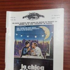 Cine: REVISTA CINE - CINEMATOGRAFICA ESPAÑOLA - LA CHICA DEL ADIOS - Nº - 295 - MAYO 1978 - TDKR19. Lote 115249939