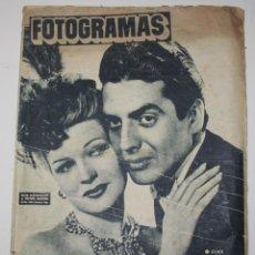 Cine: FOTOGRAMAS #73 1949 RITA HAYWORTH VICTOR MATURE SHIRLEY TEMPLE JEAN SIMMONS CINE. Lote 115300487
