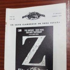Cine: REVISTA CINE - CINEMATOGRAFICA ESPAÑOLA - LA CHICA DEL ADIOS - Z - Nº - 289 - FEBRERO 1978 - TDKR19. Lote 115304958