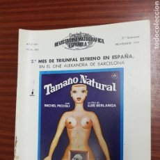 Cine: REVISTA CINE - CINEMATOGRAFICA ESPAÑOLA - TAMAÑO NATURAL - Nº - 283 - NOVIEMBRE 1977 - TDKR19. Lote 115306624
