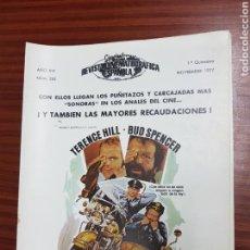 Cine: REVISTA CINE - CINEMATOGRAFICA ESPAÑOLA - DOS SUPERPOLICIAS - Nº - 282 - NOVIEMBRE 1977 - TDKR19. Lote 115306786