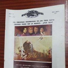 Cine: REVISTA CINE - CINEMATOGRAFICA ESPAÑOLA - EL PUENTE DE CASSANDRA - Nº - 274 - JULIO 1977 - TDKR19. Lote 115307814