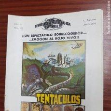 Cine: REVISTA CINE - CINEMATOGRAFICA ESPAÑOLA - TENTACULOS - Nº - 272 - JUNIO 1977 - TDKR19. Lote 115308242