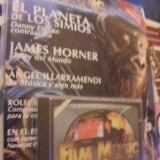 Cine: FILM MUSIC SCORE Nº 2 - PRECINTADO + CD JOHN WILLIAMS - ELFMAN HORNER ILLARRAMENDI - BSO. Lote 115476559