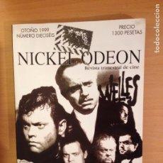 Cine: REVISTA TRIMESTRAL DE CINE NICKEL ODEON 16 (OTOÑO 1999). Lote 115525872