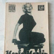 Cine: COLECCIÓN ÍDOLOS DEL CINE. NÚMERO 40: MARIA MARTIN. 28 PÁGINAS (1958). Lote 115754271