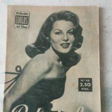 Cine: COLECCIÓN IDOLOS DEL CINE. NÚMERO 46: BELINDA LEE. 28 PÁGINAS (1958). Lote 115754283