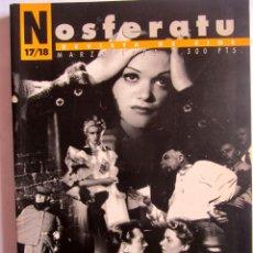 Cine: REVISTA DE CINE NOSFERATU. NÚMERO DOBLE 17-18 MARZO 1995. JEAN RENOIR EJMP2. Lote 115813323