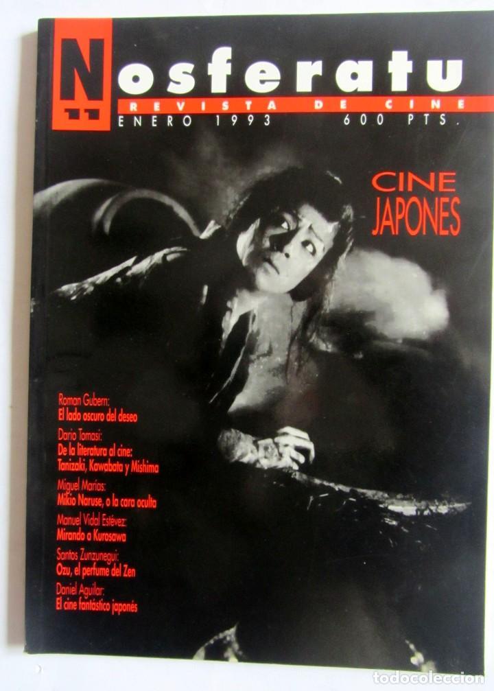 REVISTA DE CINE NOSFERATU. NÚMERO 11 ENERO 1993. CINE JAPONÉS (Cine - Revistas - Otros)