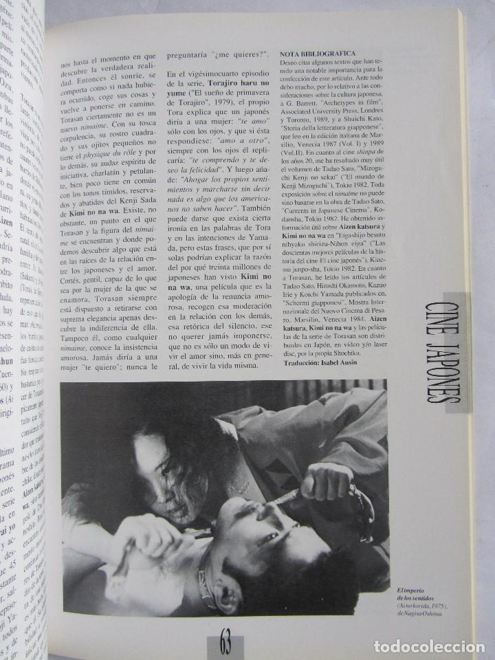 Cine: Revista de cine Nosferatu. Número 11 Enero 1993. Cine japonés - Foto 5 - 115817119