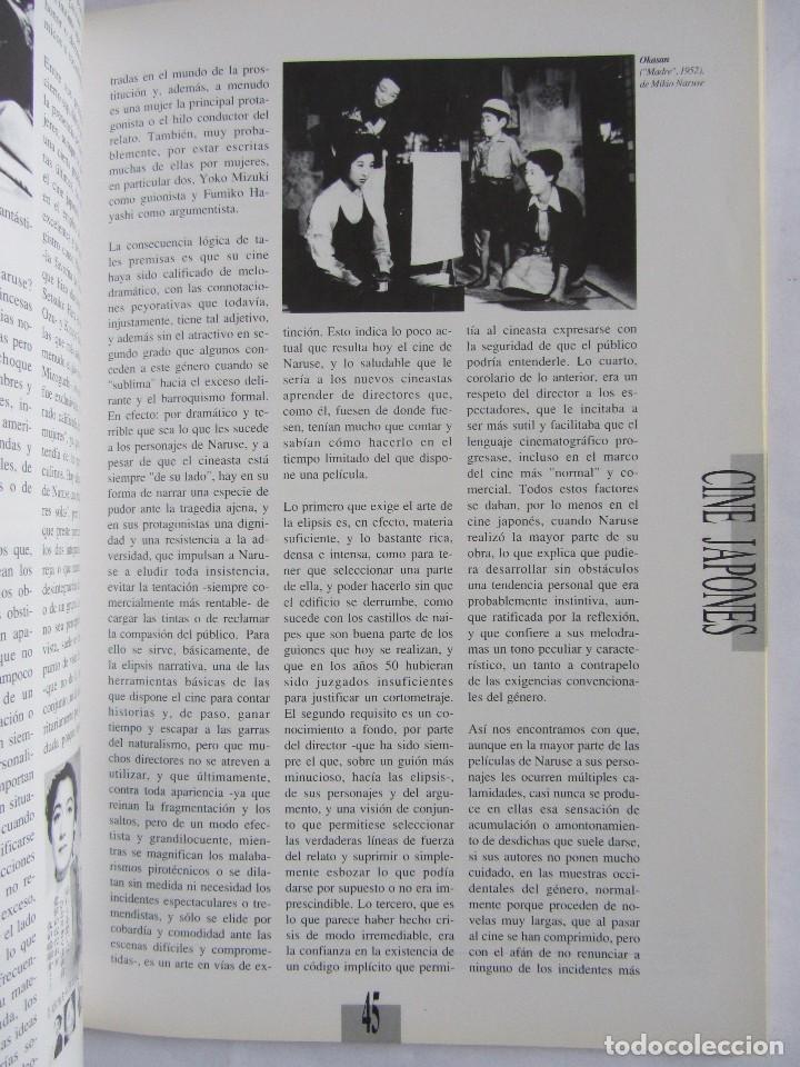 Cine: Revista de cine Nosferatu. Número 11 Enero 1993. Cine japonés - Foto 7 - 115817119