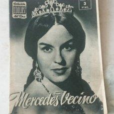 Cine: COLECCIÓN IDOLOS DEL CINE. NÚMERO 67: MERCEDES VECINO (1958. 28 PÁGINAS) . Lote 116048015