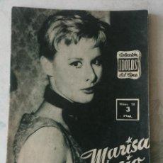 Cine: COLECCIÓN IDOLOS DEL CINE: NÚMERO 73: MARISA ALLASIO (1958. 28 PÁGINAS) . Lote 116048047