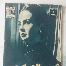 Cine: COLECCIÓN IDOLOS DEL CINE. NÚMERO 81: JEAN SIMMONS (1958. 28 PÁGINAS) . Lote 116048075