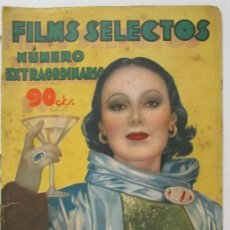 Cine: FILMS SELECTOS, NUMERO EXTRAORDINARIO, OCTUBRE DE 1934, DOLORES DEL RÍO, JOAN BLONDELL. Lote 116409587