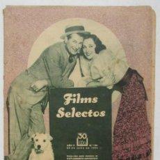 Cine: FILMS SELECTOS 198 1934 MARGARET LINDSAY, LA CUCARACHA, LA CIUDAD DE CARTON. Lote 116410243