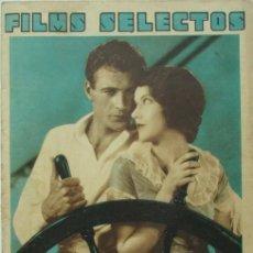 Cine: FILMS SELECTOS 42 1931 RODOLFO VALENTINO, ROSITA MORENO, JUAN BONAFÉ, DOLORES DEL RIO, SOFIA BOZAN,. Lote 116411507