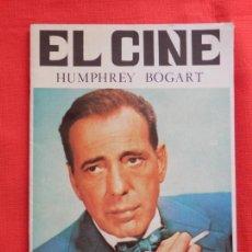 Cine: HUMPHREY BOGART EL CINE, VILMAR EDICIONES, AÑO 1991, 20 PÁGINAS IMPECABLE MINI BIOGRAFIA. Lote 116465487