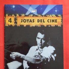Cine: JOYAS DEL CINE NÚM. 4, EL HOMBRE DEL BRAZO DE ORO, FRANK SINATRA, REVISTA 24 PÁG. IMPECABLE. Lote 116467043