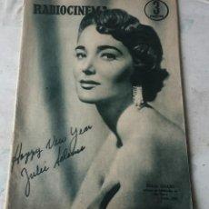 Cine: RADIOCINEMA NÚMERO 282 (17 DE DICIEMBRE DE 1955). PORTADA JULIE ADAMS. Lote 116494155