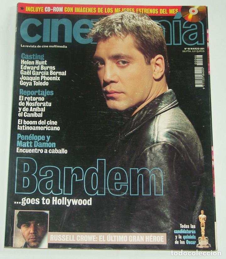 CINEMANIA Nº 66 - JAVIER BARDEM / RUSSELL CROWE (Cine - Revistas - Cinemanía)