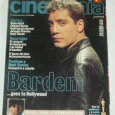 Cine: CINEMANIA Nº 66 - JAVIER BARDEM / RUSSELL CROWE. Lote 116522415