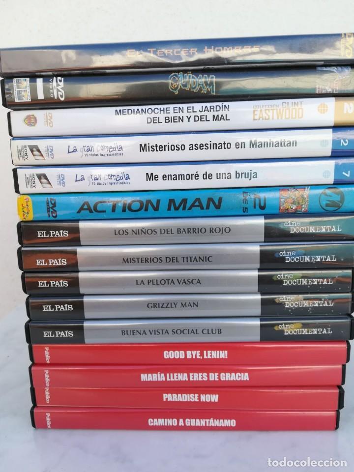 LOTE DE 15 DVD. (Cine - Revistas - La Gran Historia del cine)