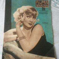 Cine: FILMS SELECTOS. NÚMERO 273 (AÑO VII) 11 DE ENERO DE 1936. PORTADA: ANN SOTHERN. Lote 116655563