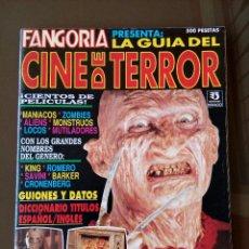 Cine: FANGORIA - LA GUIA DEL CINE DE TERROR - 1993 - EDICIONES ZINCO - 82 PAGINAS - BUEN ESTADO . Lote 116663523