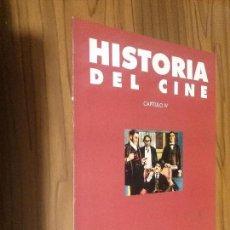 Cine: HISTORIA DEL CINE. CAPÍTULO IV. LAS PATENTES: EL CINE EN GUERRA. FASCÍCULO. GRAPA. BUEN ESTADO. RARO. Lote 116727063