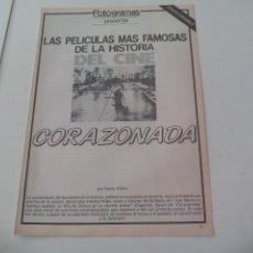 Cine: CORAZONADA LAS MEJORES PELICULAS DE LA HISTORIA DEL CINE COLECCIONABLE REVISTA FOTOGRAMAS. Lote 117014247