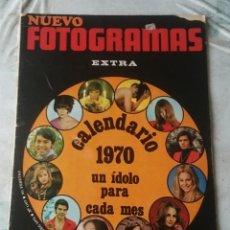 Cinema: NUEVO FOTOGRAMAS. NÚMERO 1107. PORTADA : CALENDARIO 1970 (2 DE ENERO DE 1970). Lote 117254251