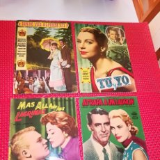 Cine: LOTE 4 REVISTAS - EDICIONES MANDOLINA - AÑO 1959 - TALLERES FHER - BILBAO - 4 PELICULAS. Lote 117288779