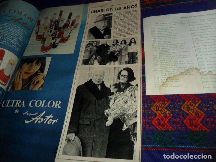 Cine: ONDAS Nº 514 CON SUPLEMENTO PROGRAMAS RADIO MADRID. MAYO 1974. SARA MONTIEL OMAR SHARIFF KISSINGER. - Foto 3 - 117536203