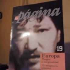 Cine: LA PAGINA Nº 19 / Nº 1 DEL VII AÑO ) - FASSBINDER LIBERTAD EN BREMEN / DOSSIER 30 PAGINAS . Lote 117634883