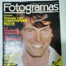 Cine: FOTOGRAMAS Nª 1648- 11/03/1981. Lote 117668083