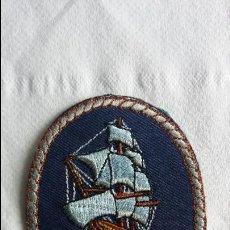 Cine: F-488- ESCUDO, EMBLEMA, BADGE BORDADO DEL BARCO HMS BOUNTY, SIDNEY, AUSTRALIA.. Lote 117859423