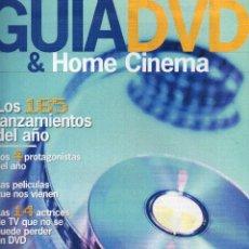 Cine: SUPLEMENTO FOTOGRAMAS GUÍA DVD 2003. Lote 118009687