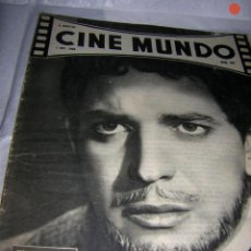 Cine: CINE MUNDO REVISTA, Nº 542 DE 1 DE OCT. 1963. Lote 118216511