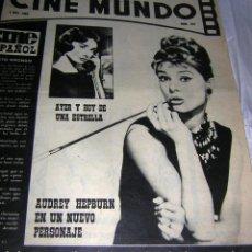 Cine: CINE MUNDO REVISTA, Nº 544 DE 2 NOV.. 1963. Lote 118216547
