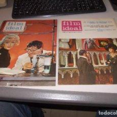 Cine: FILM IDEAL DOS REVISTAS Nº 128 15/09/1963 Y 134 15/12/1963. Lote 118545827