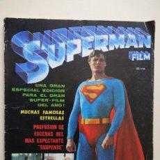Cine: SUPERMAN FILM EDICIONES VERTICE AÑO 1979 REVISTA COMIC ESPECIAL EDICIÓN MUCHAS FOTOS. Lote 118566027