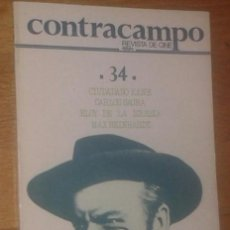 Cine: CONTRACAMPO Nº 34. INVIERNO 1984. REVISTA DE CINE.. Lote 118594287