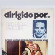 Cine: REVISTA DE CINE N°28 DIRIGIDO POR PIER PAOLO PASOLINI 1975. Lote 118660932